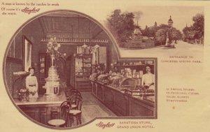 SARATOGA , New York , 1911 ; Huyler's Candy Store
