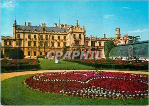 Postcard Old Lednice Chateau