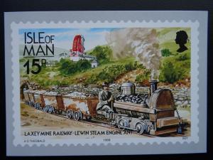 Isle of Man LAXEY MINE RAILWAY ENGINE LEWIN Railways