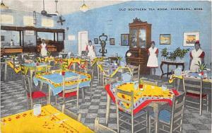 Vicksburg MS The Old Southern Tea Room Black Waitress's  Postcard