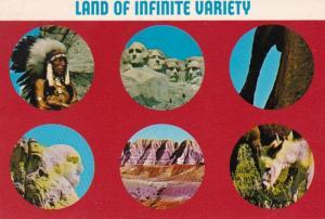 South Dakota Mount Rushmore Ben Black Elk Sioux Indian Warrior & More 1973