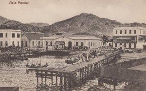 Vista ParcialSao Vicente Cape Cabo Verde Old Postcard