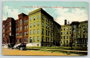 Columbus~Starling Medical College~Protestant Hospital~Alta Weiss* Baseball~c1910