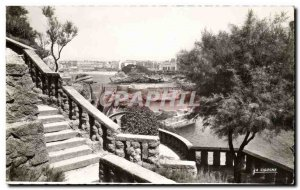 Old Postcard Biarritz General view taken from & # 39abbaye