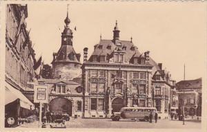 Belgium Namur La Bourse du Commerce et le Beffroi