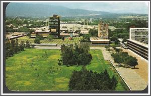 Mexico Ciudad University Postcard
