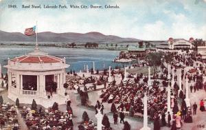 Denver Colorado~White City~Lakeside Amusement Park~Bandstand c1910
