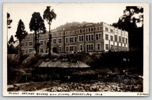 Darjeeling, West Bengal India~Mount Hermon Queens Hill Boarding School~1926 RPPC