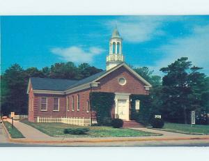 Unused Pre-1980 CHURCH SCENE Rehoboth Beach Delaware DE p3804@