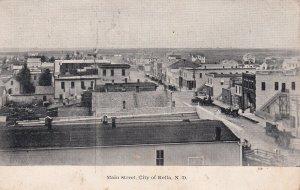 ROLLA , North Dakota ,1908 ; Main Street