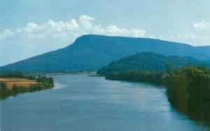 Tennessee River and Lookout Mountain, Chattanooga, Tennes...