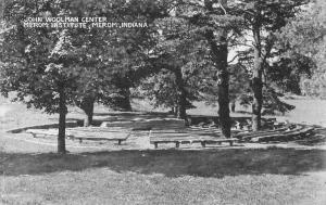 Merom Indiana Institute Woolman Center Antique Postcard K101638