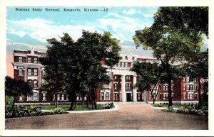 Kansas Emporia Kansas State Normal School