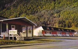 Les flots Bleus Motel, GASPE, Quebec, Canada, 40-60´s