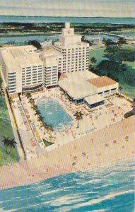 Florida Miami Beach The New Cadillac Hotel Cabana Club With Pool