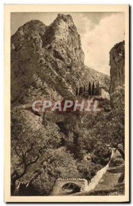 Old Postcard La Douce France Moustiers Sainte Marie and the Chapel of Beauvoi...