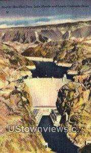 Lake Mead in Hoover (Boulder) Dam, Nevada