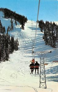Post Card Old Vintage Antique Whistler Mountain, Garibaldi Provinical Park, B...