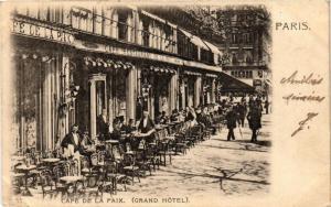 CPA Paris 9e - Cafe de la Paix (274234)