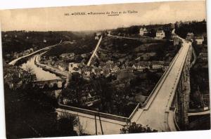 CPA DINAN - Panorama du Port et du Viaduc (243417)