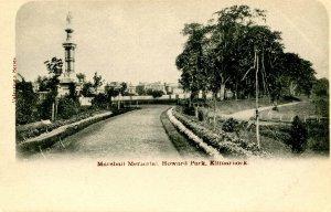UK - Scotland, Kilmarnock. Marshall Memorial, Howard Park