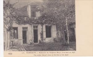 BARBIZON, Seine Et Marne, France, 1900-1910's; The Sculpor Barye's House At T...
