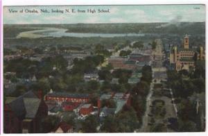 Omaha, Nebraska, A Birdseye View, 1909