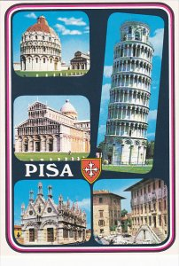 Multi View Leaning Tower Pisa Italy