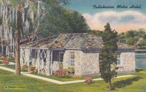 TALLAHASSEE , Florida , 1930-40s ; Tallahassee Motor Hotel