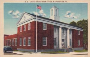 Virginia Martinsville Post Office
