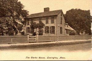 Massachusetts Lexington The Clarke House