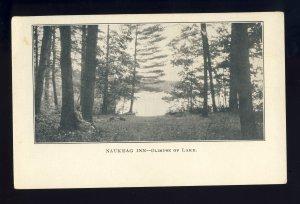 Ashburnham, Massachusetts/MA/Mass Postcard, Naukeag Inn On Lake