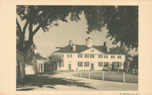 USA The Mount Vernon Mansion West Front Virginia 04.77