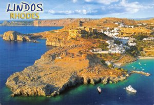 Greece Postcard, Lindos, Rhodes FJ9