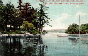 Massachusetts Webster Lake Chargoggag The Narrows 1909