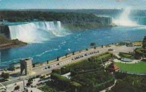 Air view, Oakes Garden Theatre, Niagara Falls, Ontario, Canada, 40-60s