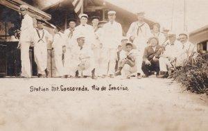 RP; Sailors, Station Mt Coegovada, Rio de Janerio, Brazil, 00-10s