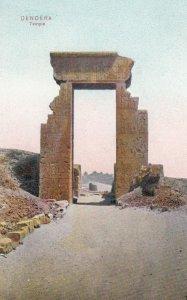 DENDERA , Egypt , 00-10s ; Temple