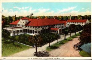 Florida Green Cove Springs Hotel Qui-Si-Sana 1925