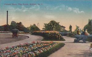 Flower Beds, The Front, Buffalo, New York, PU-1914