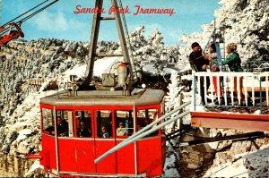 New Mexico Abuquerque Sandia Peak Ski Area Sandia Peak Tramway