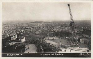 RP: BARCELONA, Spain, 10-30s ; La cumbre del Tibidabo