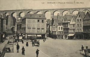 CPA MORLAIX - Place de Viarmes (143174)