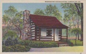 Maryland Cumberland Washingtons Headquaters