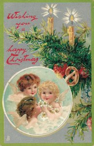 Christmas Wishing you a Happy Christmas Angels 03.64