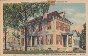 Indiana Vincennes Grouseland The White House Of The West