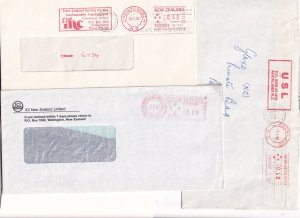 Pitney Bowes 39 Frank Handicapped New Zealand 3x Cover s