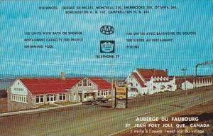 Canada Quebec St Jean Port Joli Auberge Du Faubourg