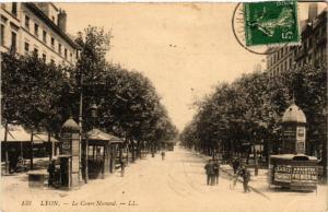 CPA LYON-Le COURS MORAND (427073)