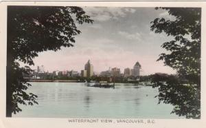 RP: VANCOUVER, British Columbia, Canada, 1910-1940s; Waterfront View